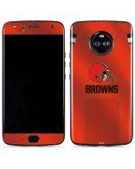 Cleveland Browns Team Jersey Moto X4 Skin