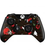Cleveland Browns Tropical Print Xbox One Controller Skin