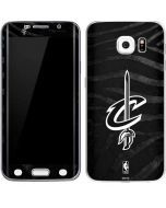Cleveland Cavaliers Black Animal Print Galaxy S6 Edge Skin