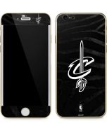 Cleveland Cavaliers Black Animal Print iPhone 6/6s Skin