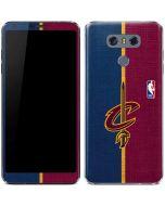 Cleveland Cavaliers Canvas LG G6 Skin