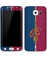 Cleveland Cavaliers Canvas Galaxy S6 Edge Skin