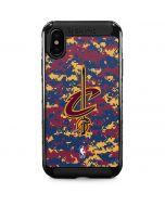 Cleveland Cavaliers Digi Camo iPhone XS Max Cargo Case