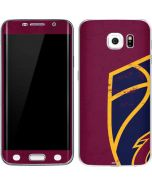 Cleveland Cavaliers Distressed Galaxy S6 Edge Skin