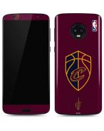 Cleveland Cavaliers Distressed Moto G6 Skin