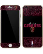 Cleveland Cavaliers Elephant Print iPhone 6/6s Skin