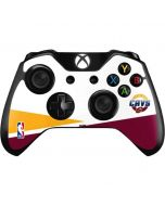 Cleveland Cavaliers Split Xbox One Controller Skin