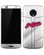 Cleveland Indians Home Jersey Moto G6 Skin