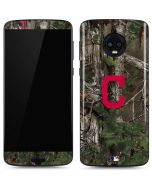 Cleveland Indians Realtree Xtra Green Camo Moto G6 Skin