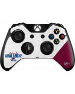 Colorado Avalanche Script Xbox One Controller Skin