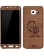 Colorado Rockies Engraved Galaxy S6 Edge Skin