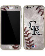 Colorado Rockies Game Ball iPhone 6/6s Skin