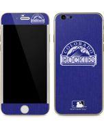 Colorado Rockies Monotone iPhone 6/6s Skin