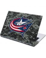 Columbus Blue Jackets Camo Yoga 910 2-in-1 14in Touch-Screen Skin