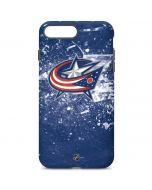 Columbus Blue Jackets Frozen iPhone 7 Plus Pro Case