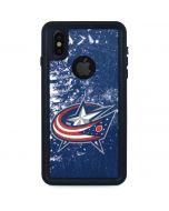 Columbus Blue Jackets Frozen iPhone X Waterproof Case