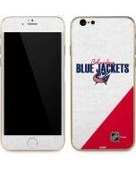 Columbus Blue Jackets Script iPhone 6/6s Skin