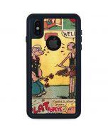 Comic Strip Popeye iPhone XS Waterproof Case