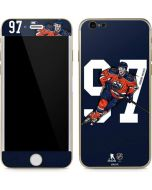 Connor McDavid #97 Action Sketch iPhone 6/6s Skin