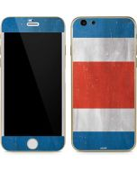 Costa Rican Flag Distressed iPhone 6/6s Skin