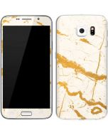 Cracked Marble Galaxy S6 Skin