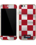 Croatia Soccer Flag iPhone 6/6s Skin