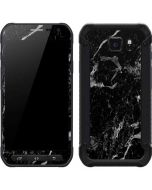 Crushed Black Galaxy S6 Active Skin
