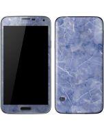 Crushed Blue Galaxy S5 Skin