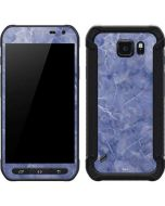 Crushed Blue Galaxy S6 Active Skin