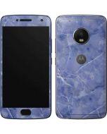 Crushed Blue Moto G5 Plus Skin