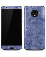 Crushed Blue Moto G6 Skin