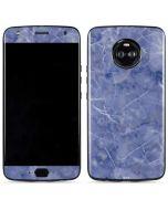 Crushed Blue Moto X4 Skin