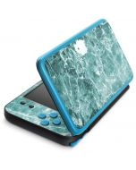 Crushed Turquoise 2DS XL (2017) Skin