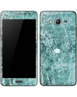 Crushed Turquoise Galaxy Grand Prime Skin