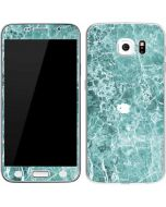 Crushed Turquoise Galaxy S6 Skin