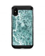 Crushed Turquoise iPhone X Cargo Case
