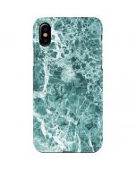 Crushed Turquoise iPhone XS Max Lite Case