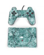 Crushed Turquoise PlayStation Classic Bundle Skin