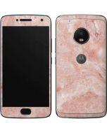 Crystal Pink Moto G5 Plus Skin