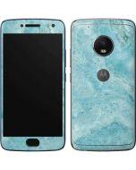 Crystal Turquoise Moto G5 Plus Skin