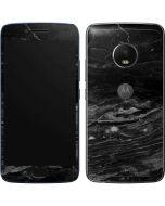 Crystal Black Moto G5 Plus Skin