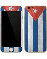 Cuban Flag Distressed iPhone 6/6s Skin