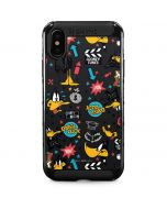 Daffy Duck Patches iPhone XS Max Cargo Case