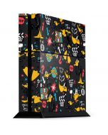 Daffy Duck Patches PS4 Console Skin