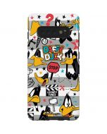 Daffy Duck Striped Patches Galaxy S10 Plus Pro Case