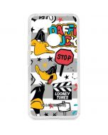 Daffy Duck Striped Patches Google Pixel 3 Clear Case