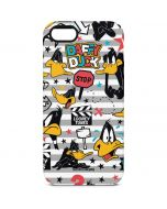 Daffy Duck Striped Patches iPhone 5/5s/SE Pro Case