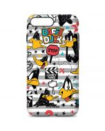 Daffy Duck Striped Patches iPhone 7 Plus Pro Case