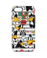 Daffy Duck Striped Patches iPhone 7 Pro Case