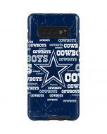 Dallas Cowboys Blast Galaxy S10 Plus Pro Case